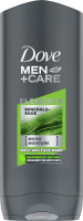 Dove - Men + Care - Elements - Minerals + Sage - Body and Face Wash - Body and face shower gel for men - 250 ml