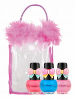 VIPERA - Tutu Set - Gift set of 3 Peel Off nail polishes for children in a cosmetic bag - 14