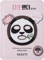 Skin79 - Whitening Animal Mask - Bleached Face Mask - Dark Panda