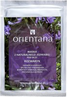 ORIENTANA - Natural silk eye mask - Rosemary - 1 pair