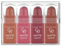 Golden Rose - Matte Lipstick Mix - A set of 4 matte mini lipsticks