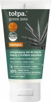 Tołpa - Green Men - Energizing face wash gel for men with short facial hair - 150 ml