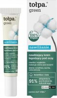 Tołpa - Green - Moisturizing soothing eye cream - Cotton and Iris - 15 ml