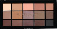 MAKEUP REVOLUTION - RELOADED SHADOW PALETTE - 15 eyeshadows - BASIC MATTES