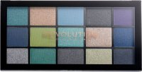 MAKEUP REVOLUTION - RELOADED SHADOW PALETTE - 15 eyeshadows - DEEP DIVE