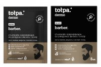 Tołpa - Dermo Barber - Cleansing wipes for beard and beard care - 8 pieces
