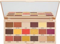 I Heart Revolution - MAKE UP PIGMENT PALETTE - LEMON DRIZZLE - 18 eyeshadows - (LEMON CHOCOLATE)