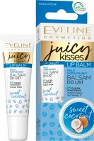 EVELINE - JUICY KISSES - Lip Balm - Multi moisturizing lip balm - Coconut - 12 ml