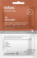 Tołpa - Dermo Face 40+ Stimular - Firming mask concentrate for face, neck, neckline and bust - 2 x 6 ml