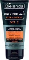 Bielenda - Only for Man - Extra Energy Vit. C - Energizing cleansing gel for washing the face for men - 150 g