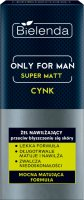 Bielenda - Only for Men - Super Matt - Zinc - Moisturizing face gel against shiny skin for men - 50 ml