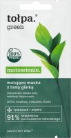 Tołpa - Green - Matt clay face mask with white clay - 8 ml