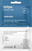 Tołpa - Dermo Face Hydrativ - Hydroenzymatic peeling mask for face, neck and cleavage - 2 x 6 ml