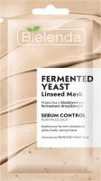 Bielenda - FERMENTED YEAST LINSEED MASK - Normalizing face mask with yeast ferment - 8 g