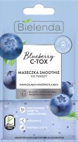 Bielenda - BLUEBERRY C-TOX SMOOTHIE MASK - Moisturizing and brightening smoothie face mask - 8 g