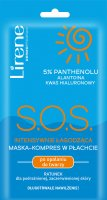 Lirene - S.O.S. intensely soothing mask-compress in a sheet after sunbathing for the face