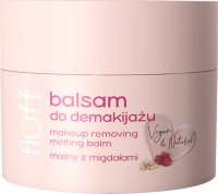 FLUFF - Makeup Removing Melting Balm - Make-up remover - Raspberries with almonds - 50 ml