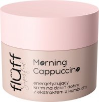 FLUFF - Superfood - Morning Cappuccino Cream - Energizing face cream for good morning - 50 ml