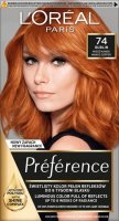 L'Oréal - Préférence - Permanent Haircolor 74 - DUBLIN - MANGO COPPER - Hair dye - Permanent coloring - Mango Copper