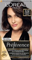 L'Oréal - Préférence - Permanent Haircolor 3.12 - TORONTO - INTENSE COOL DARK BROWN - Hair dye - Permanent coloring - Intensive Cool Dark Brown