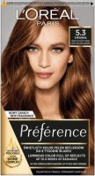 L'Oréal - Préférence - Permanent Haircolor 5.3 - VIRGINIA - LIGHT GOLDEN BROWN - Hair dye - Permanent colorization - Light Golden Brown