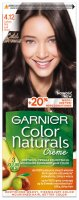 GARNIER - COLOR NATURALS Creme - Long-lasting, nourishing hair color - 4.12 Ice Brown
