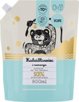 YOPE - NATURAL SHOWER GEL - REFILL - Incense and rosemary - 800 ml