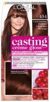 L'Oréal - Casting Créme Gloss - Caring without ammonia - 454 Chocolate Brownie