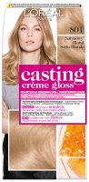 L'Oréal - Casting Creme Gloss  - Nourishing color without ammonia - 801 Satin Blonde