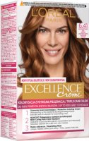 L'Oréal - EXCELLENCE Creme - Hair coloring with triple care - 6.41 Light Amber Brown