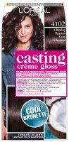 L'Oréal - Casting Créme Gloss - Caring color without ammonia - 4102 Cool Chestnut