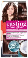 L'Oréal - Casting Créme Gloss - Caring color without ammonia - 515 Frosty Chocolate