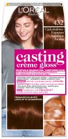 L'Oréal - Casting Créme Gloss - Caring color without ammonia - 432 Chocolate Espresso
