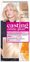 L'Oréal - Casting Créme Gloss - Caring without ammonia - 1021 Light Pearl Blonde