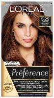 L'Oréal - Préférence - Permanent Haircolor 5.25 - ANTIGUA - ICY BROWN - Hair dye - Permanent coloring - Frosty Brown