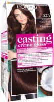 L'Oréal - Casting Créme Gloss - Caring color without ammonia - 323 Dark Chocolate
