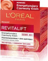 L'Oréal - REVITALIFT Energizing Red Cream - Energizing red face cream - Day - 50 ml - 40+