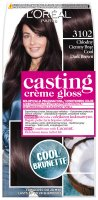 L'Oréal - Casting Creme Gloss - Casting Créme Gloss - Nourishing color without ammonia - 3102 Cool Dark Brown