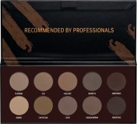 AFFECT - COLOR BROWN COLLECTION - PRESSED EYEBROW SHADOWS PALETTE