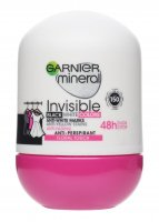 GARNIER - Mineral - Invisible Black White Colors - Floral Touch - Antiperspirant roll-on 48H - 50 ml