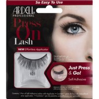 ARDELL - Press On Lashes - False eyelashes with applicator strip and adhesive - 101 - 101