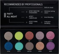 AFFECT - PRESSED EYESHADOWS PALETTE - PARTY ALL NIGHT