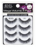 ARDELL - Mega Volume - 4 Pack - Set of 4 pairs of lashes on a strip