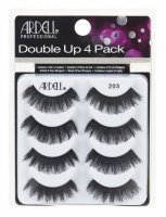 ARDELL - Double Up 4 Pack - Set of 4 pairs of lashes on a strip