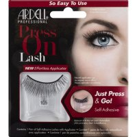 ARDELL - Press On Lashes - False eyelashes with applicator strip and adhesive - 105 - 105