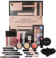 MAKEUP REVOLUTION - THE ADVENT CALENDAR - Advent calendar with make-up cosmetics