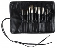 Kozłowski - Professional set of 12 make-up brushes - e710
