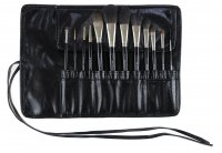 Kozłowski - Professional set of 12 make-up brushes - e720 super