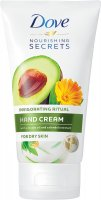 Dove - Nourishing Secrets - Invigorating Ritual - Hand Cream - Hand cream for dry skin - Avocado oil and calendula extract - 75 ml