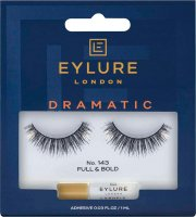 EYLURE - DRAMATIC - NO. 143 - Eyelashes + Glue - Double Volume Effect
